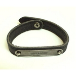 MARC BY MARC JACOBS(マークバイマークジェイコブス) Latin BraceletsLeather with metal plaque5231 Short ブレスレット バングル INTERNOS