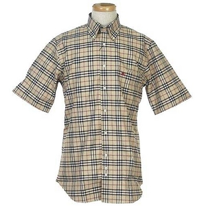 Burberry(バーバリー) N SUSSEX M/C CAMEL メンズシャツ 2