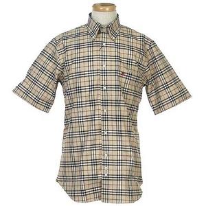 Burberry(バーバリー) N SUSSEX M/C CAMEL メンズシャツ 4