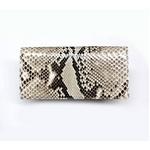 PYTHON革 wallet01 パイソン(ニシキヘビ革) 財布 札入れ【MADE IN JAPAN】