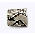 PYTHON革 wallet06 パイソン(ニシキヘビ革) ウォレット【MADE IN JAPAN】
