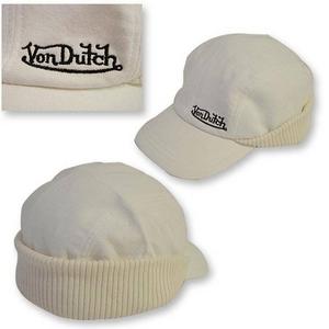 Von Dutch(ヴォンダッチ) VD6008 WH キャップ