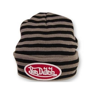 Von Dutch(ヴォンダッチ) VD6101 BK ニットキャップ