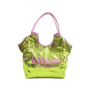 KITSON(キットソン) スパンコール トートバッグ SEQUIN TOTE 3153 ゴールド 2009新作