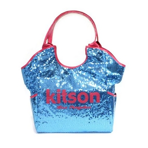 KITSON(キットソン) スパンコール トートバッグ SEQUIN TOTE 3155 アクア 2009新作