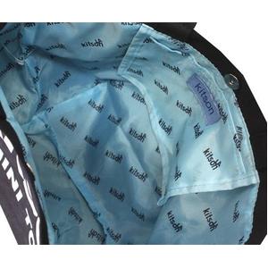 KITSON(キットソン) トートバッグ MINI CANVAS TOTE ミニキャンバス 2009新作 ブラック(3544)