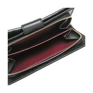 Bvlgari(ブルガリ) 25265DOPPIOTONDO ドッピオトンド二つ折り中財布ブラック×ゴールド