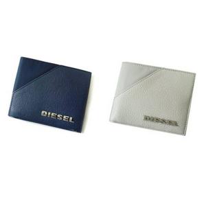 DIESEL(ディーゼル) 二つ折り財布 00XG86-PR524 ホワイト