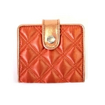MARC BY MARC JACOBS(マークバイマークジェイコブス)  2つ折り財布 サテンスナップ 50360 オレンジ S08QUILTED