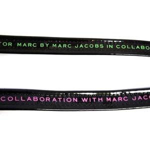 MARC BY MARC JACOBS(マークバイマークジェイコブス) MMJ Two Tone Belt ベルト Black/Yellow (97206)