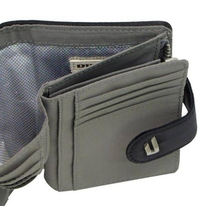 DIESEL(ディーゼル) XG79 PR524 H1645 2つ折り小銭入れ 財布 BLACK/PEWTER