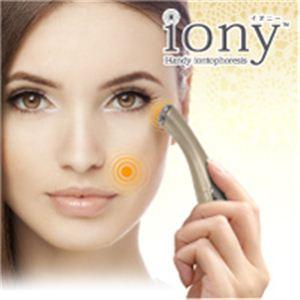 iony(イオニー) ハンディーイオン導入器 シャンパンゴールド