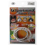 スパークノンX シリコンループ M ホワイト