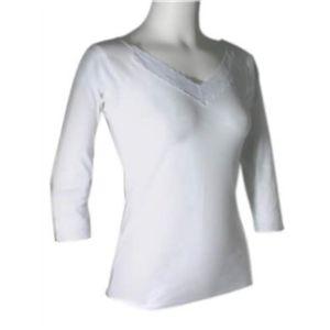 強力遠赤外線プラチナ繊維 7分袖シャツ M