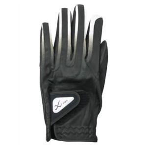 CW-X アクセサリー ゴルフグローブ メンズ HYO029 黒/グレー 23cm