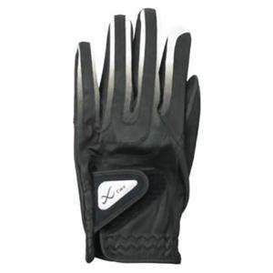 CW-X アクセサリー ゴルフグローブ メンズ HYO029 黒/グレー 24cm