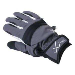 CW-X アクセサリー バイクグローブGORE-TEX入りウインター手袋 HYO027 グレー L