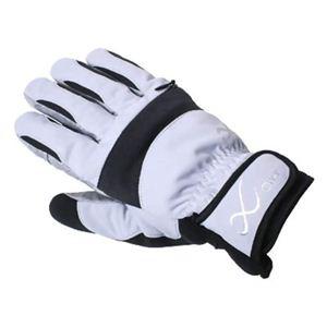 CW-X アクセサリー バイクグローブGORE-TEX入りウインター手袋 HYO027 ライトグレー X