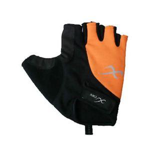 CW-X バイクグローブ指きりライトタイプ HYO033 橙 XL