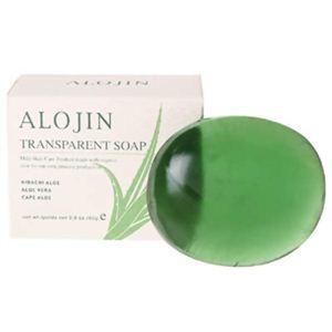 アロジン トランスペアレントソープ80g
