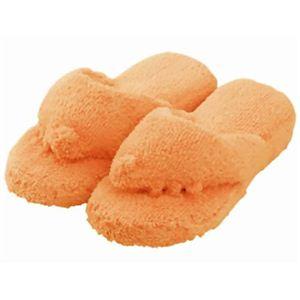 5本指 リラックススリッパ カーキオレンジ