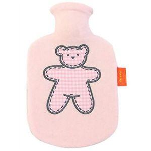 Fashy(ファシー) フリース湯たんぽ チャイルド くまアップリケ ピンク