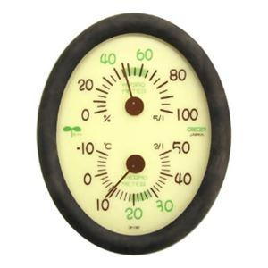 クレセル エコロジー 温度計・湿度計 (壁掛け・卓上両用) CR-136E