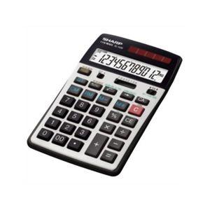 シャープ 12桁中型卓上電卓(経理仕様) EL-N36-X