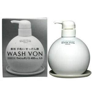 ウォッシュボンG 薬用手洗いせっけん液 400ml