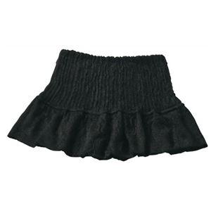 シルク100% おやすみ衿もとカバー ブラック