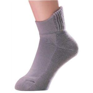 片手ではけるやさしい靴下 同色2足組 モカ