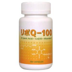 リポQ-100 120カプセル(アルファリポ酸/αリポ酸配合)