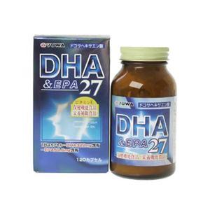 ユーワ DHA&EPA27 120カプセル