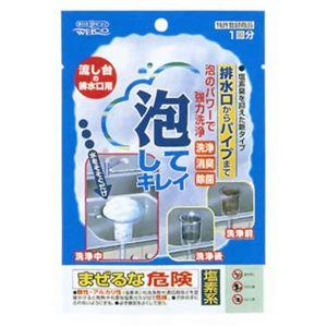 泡してキレイ 流し台の排水口用 45g 【6セット】