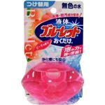 液体ブルーレットおくだけ ピーチの香り 無色の水 つけ替用【10セット】