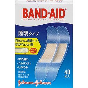 バンドエイド2012 透明 40枚 【6セット】