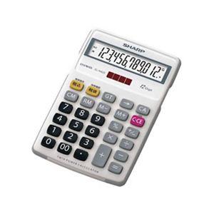 シャープ 12桁中型卓上電卓 EL-N422-X 【2セット】
