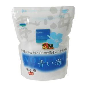 青い海 海水塩 500g 【4セット】