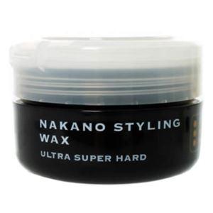 ナカノ スタイリングワックス 6 ウルトラスーパーハード 90g 【3セット】