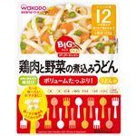 BIGサイズのグーグーキッチン 鶏肉と野菜の煮込みうどん 120g 【18セット】