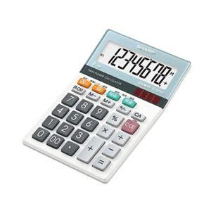 シャープ 8桁小型卓上電卓(マルチ換算機能付き) EL-M720-X 【3セット】