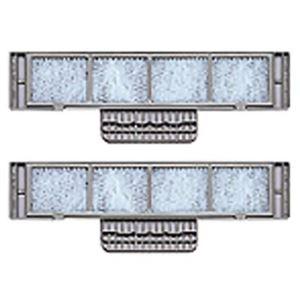 シャープ エアコン用空気清浄フィルター取付枠セット AZ-D55F 【2セット】