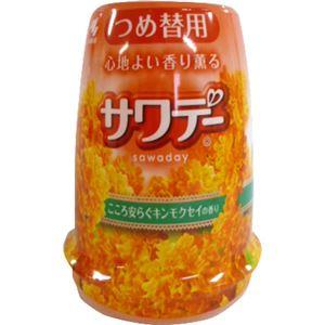 香り薫るサワデー つめ替 キンモクセイ&ミモザの香り 140g 【14セット】