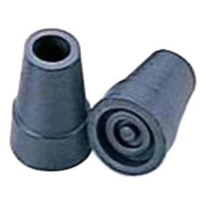 杖先ゴム 伸縮・折リタタミ 直径15mm 黒 2個組 【3セット】