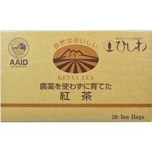 ひしわ 農薬を使わずに育てた紅茶 20袋 【9セット】