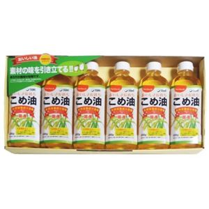 こめ油ギフトセット(TFKA-30) 日本のお米の豊かな恵み 500g×6本入