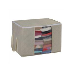 梅炭角型消臭収納袋 衣類整理 大・羽毛布団用 約56×40×40cm【2セット】