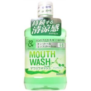 マウスウオッシュ 600ml クリアミント 【12セット】