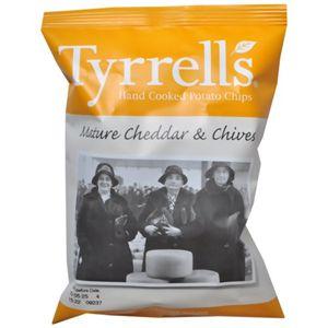 ティレル チェダーチーズ&チャイブポテトチップス 40g 【17セット】