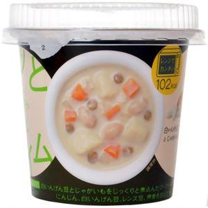 ホッとタイム 野菜と豆と雑穀のスープ 白いんげん豆とじゃがいも 【11セット】